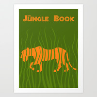 Jungle book Art Print by Citron Vert