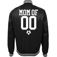 Cool Soccer Mom Trendy Bomber: This Mom Means Business!
