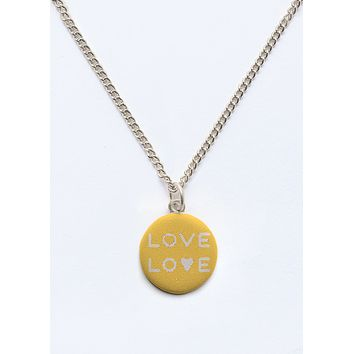 love love necklace