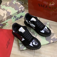 Valentino Women Men New popular Casual Shoes Sneaker Sport Running Shoes