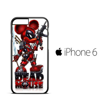 Mickey deadpool Y1394 iPhone 6 Case