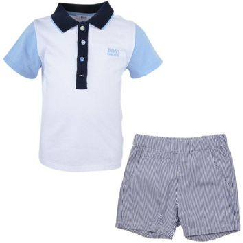Hugo Boss Baby Boys Two-Piece Gift Set