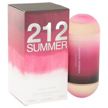 212 Summer by Carolina Herrera Eau De Toilette Spray (Limited Edition) 2 oz