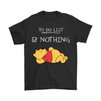QIYIF To Do List Nothing Winnie The Pooh Shirts