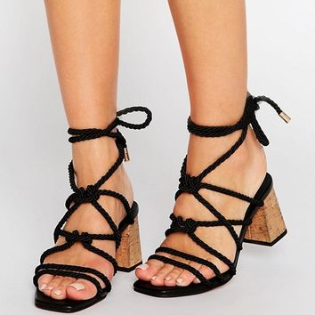 ASOS TENNESSEE Heeled Sandals at asos.com