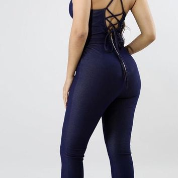 Bell Denim Jumpsuit