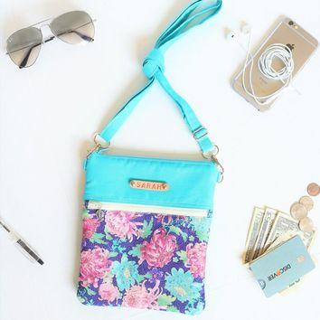 Small Crossbody Sling Bag Gift for Girls // Crossbody Purse Gift // Travel Gift Cross Body Bag