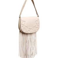 H&M Leather Bag with Fringe $129