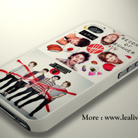 Red Cross 5sos Phone Case Back Cover for iPhone, iPod and Samsung Galaxy | Lealiveus.com