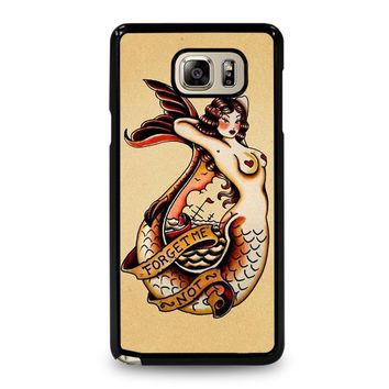 SAILOR JERRY TATTOO MERMAID Samsung Galaxy Note 5 Case