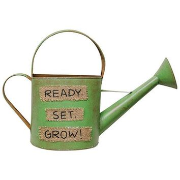 Watering Can - Ready Set Grow - Decor