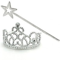 Princess Wand Tiara Set - 1 Set