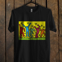 Keith Haring Pop Art Mens T Shirt *