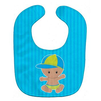 Beach Baby Boy with Hat Baby Bib BB8651BIB