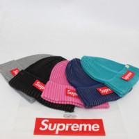 Supeme Beanie Unisex Warm Winter High Quality Hat