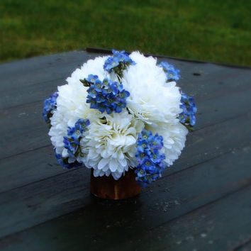 Table Bouquet, Home decor, Restaurant decor, Floral Table Centerpiece,Wedding Decor,Artificial Silk Flowers Arrangement,Rustic Wedding