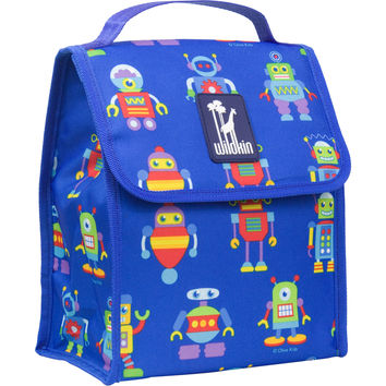 Olive Kids Robots Munch 'n Lunch Bag - 55112