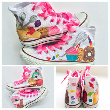 Cupcake Candy and Dessert Converse