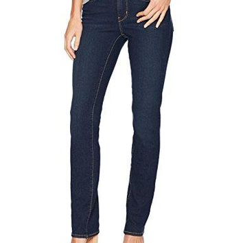 Signature by Levi Strauss & Co Women's Totally Shaping Straight Jeans