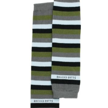 Grey '3 Stripes Your Out' LegWarmers
