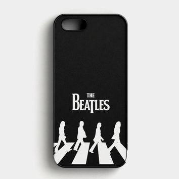 The Beatles Logo Nebula iPhone SE Case