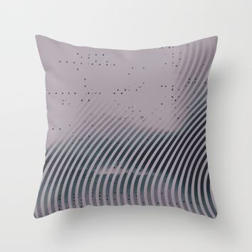 m-0125 Throw Pillow by DuckyB