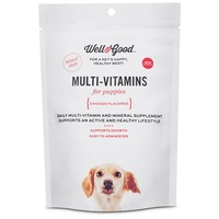 Well & Good Puppy Stage Daily Soft Chews Dog Vitamins | Petco