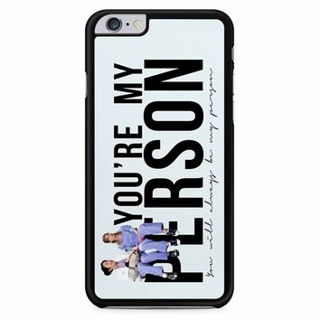 Grey S Anatomy - Go Hug Yourself iPhone 6 Plus / 6s Plus Case