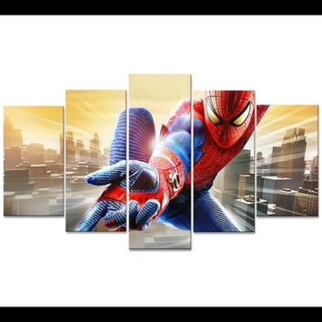 Superhero Movie Spiderman Wall Art Canvas Print Picture Poster Framed UNframed
