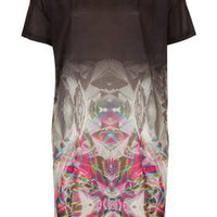 MIRROR FADE TEE DRESS BY ESCAPOLOGY