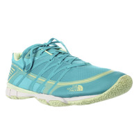 The North Face Litewave Ampere Athletic Sneakers, Bluebird/Budding Green, 10 US / 41 EU