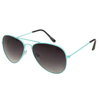 Color Aviator Sunglasses | Shop Accessories at Wet Seal