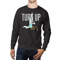 Rick And Morty Turn Up Unisex Sweaters - 54R Sweater