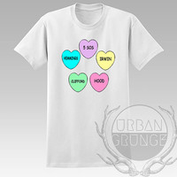 5 seconds of summer hearts Unisex Tshirt - Graphic tshirt