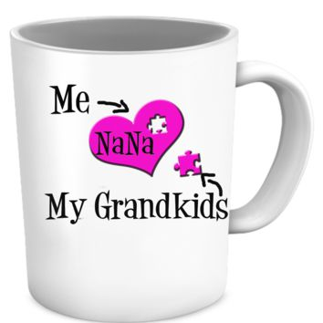 Grandkids the missing puzzle piece  nanapuzzlemug