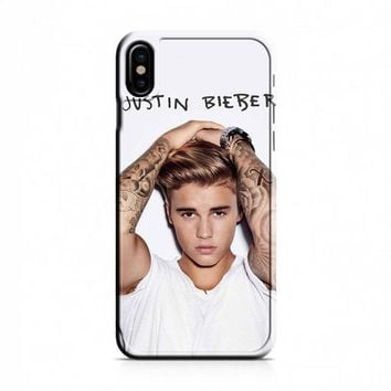Justin Bieber Poster iPhone X Case
