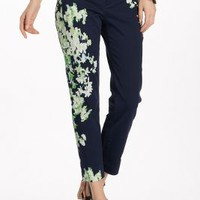 Megaflora Charlie Trousers by Cartonnier Blue Motif 10 Pants