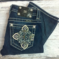 MISS ME MP7556BV BOOTCUT JEANS