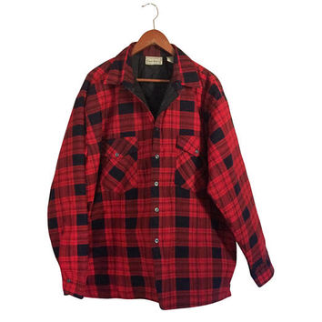 Men Flannel Shirt Red Flannel Shirt 3XL Shirt Grunge Flannel Shirt Plaid Flannel Shirt Lumberjack Flannel Men Black Flannel Shirt Cotton