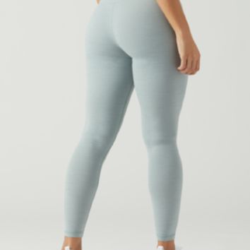 Glyder - HIGH WAIST PURE LEGGING: GREEN MILIEU MELANGE
