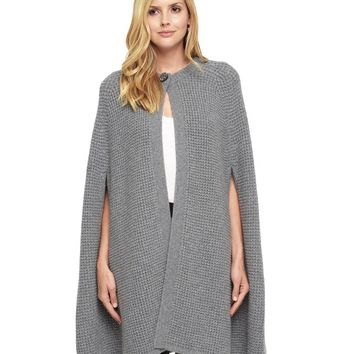 Texture Stitch Sweater Cape by Juicy Couture
