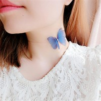 Barely There Butterfly Choker