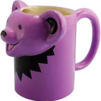 Grateful Dead - Dancing Bear - Purple - Mug