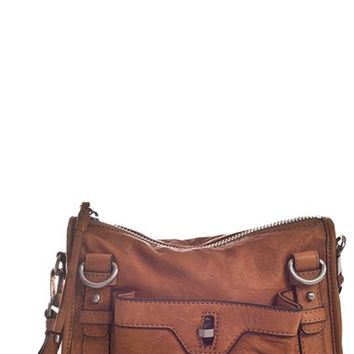 Women's Sanctuary 'Cargo' Leather Crossbody Bag