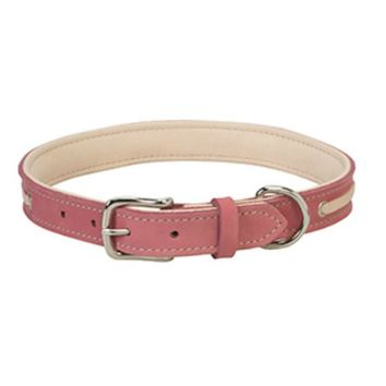 "Weaver Pet 06-5891-23 Deck Dog Collar, 23"", 1"" Wide, Coral & Natural"