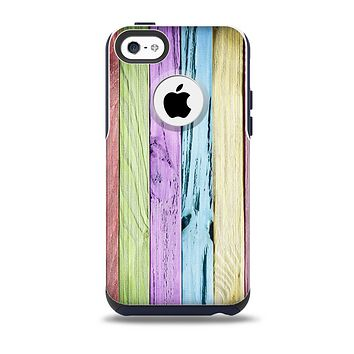 The Light Color Planks Skin for the iPhone 5c OtterBox Commuter Case