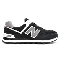 New Balance - 574 (Black/Grey/White)