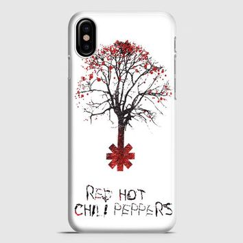 Tree Of Red Hot Chili Peppers iPhone X Case | casescraft