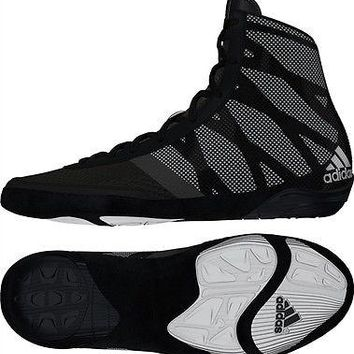 Adidas Pretereo III Black Wrestling Shoes Size 9.5, 10, 10.5 or 11.5