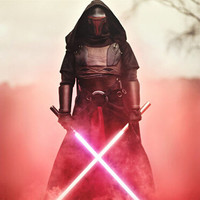 NEW 2pcs/set 148cm Star Wars 7 The Force Awakens LED lightsaber scalable Cosplay Darth Vader action figure toys doll